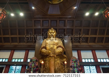 Shutterstock Che kong, Che kung temple in Hong kong picture for tourist package photo
