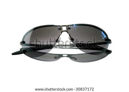 Cheap Generic Sunglasses  isolated on white