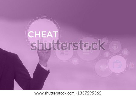 CHEAT - technology and business concept #1337595365
