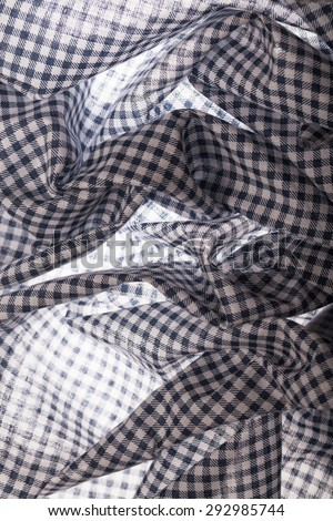 checked table cloth with back light #292985744