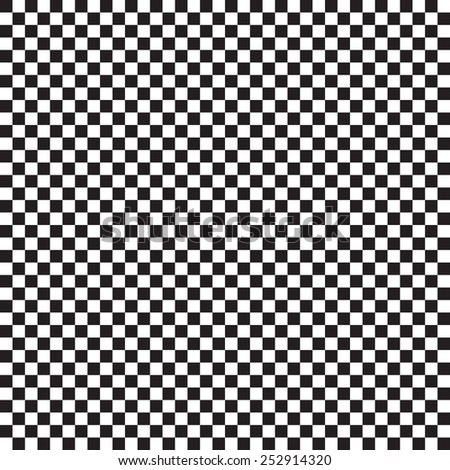 Checker chess. Square abstract background. Finish checker seamless pattern