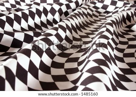 Racing Checkered Flag Tuxedo Vest - Tuxedo Formal Wear
