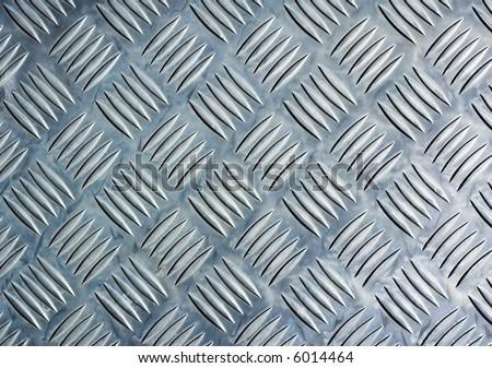 Checker plate - stock photo
