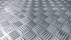 checker plate abstract floor metal stainless background