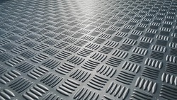 checker plate abstract floor metal stainless steel background
