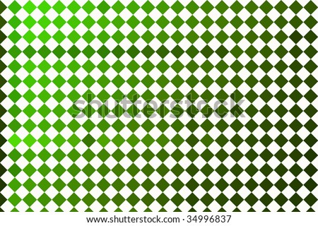 Checkerboard Overload - Green