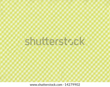 Checkered fabric closeup - series - yellow. Good for background. More fabrics in my port.