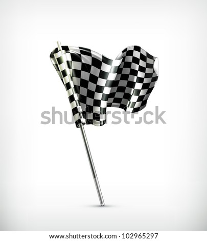Checkered flag, bitmap copy