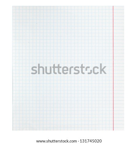 Checker Paper Checkered Notebook Paper Stock