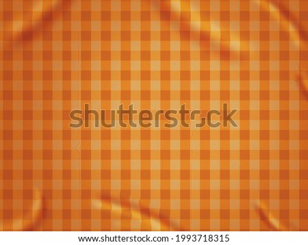 Checkered Tablecloth Background 3D Illustration Stockfoto ©