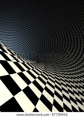 checkered texture 3d background illustration. high resolution