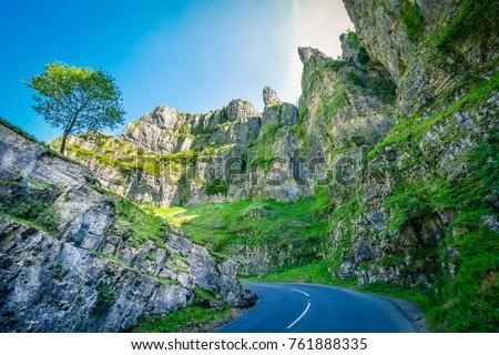 Cheddar Gorge, England #761888335