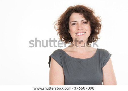 Cheerful business woman looking at the camera #376607098