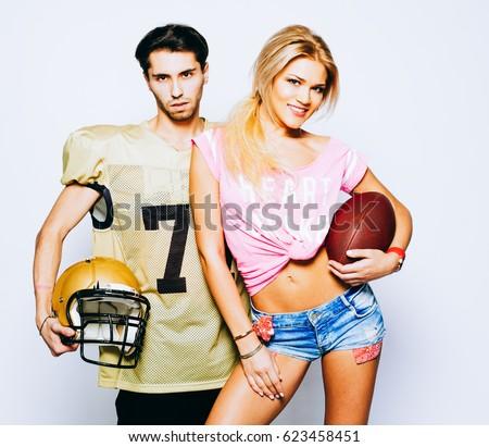 Girl quarterback dating cheerleader