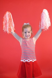 cheerleader girl vertical