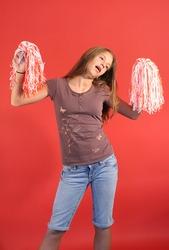 cheerleader vertical side