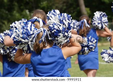 Cheerleaders Cheering at Game 2