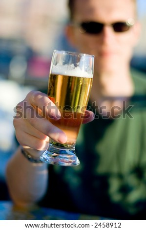 Cheers! - stock photo