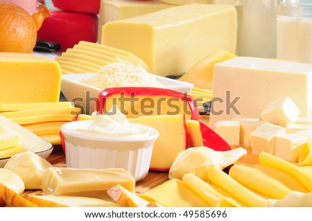 Cheese. - stock photo