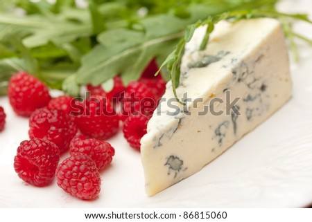 cheese and raspberry