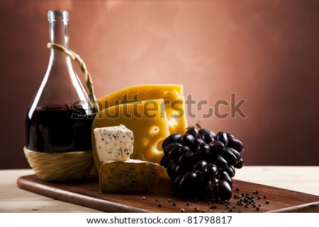 Cheese composition - stock photo