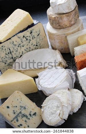 cheese variety selection #261844838