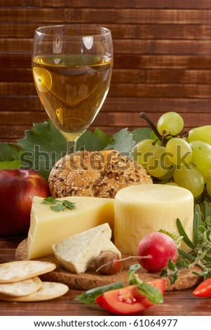 Cheese, wine and and other autumn products