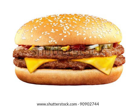 Stock Photo cheeseburger