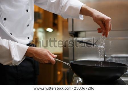 Shutterstock Chef preparing food