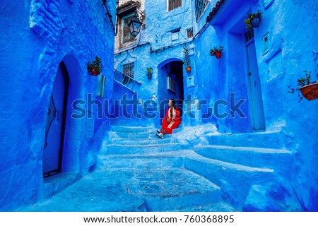 Chefchaouen ,Blue city of Morocco