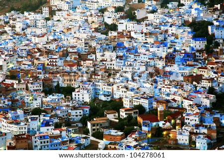 Chefchaouen Old Medina, Morocco, Africa