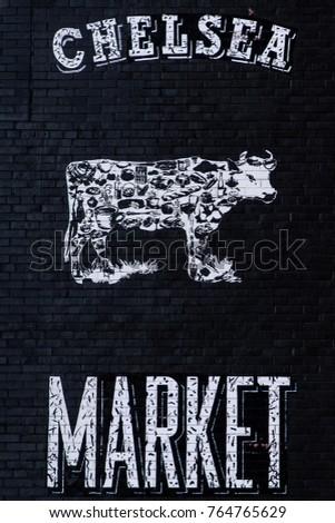 Chelsea Market Manhattan #764765629