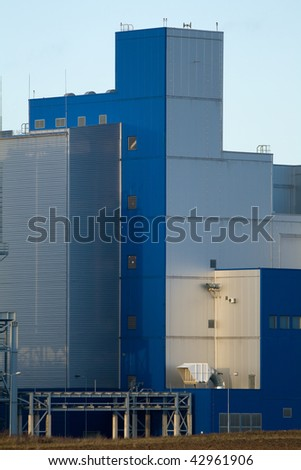 Chemical factory tower