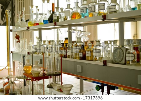 Chemical Lab - stock photo