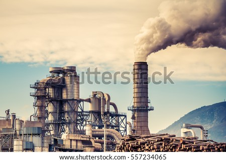 chemical plant for the...