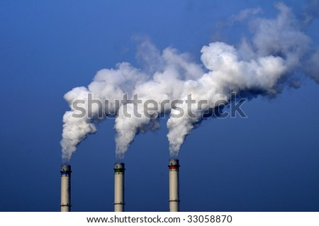 Chemical plant/power station air pollutions