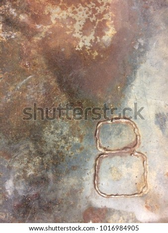 Chemically etched sheet metal #1016984905