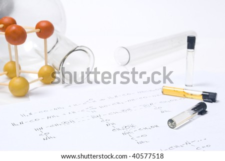 Chemistry concept - stock photo