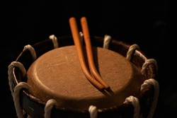 Chenda is an wooden instrument used in India for traditional danceform kathakalli, as well as almost all festivals