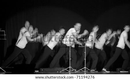 CHENGDU - APR 8: hip-hop dance \