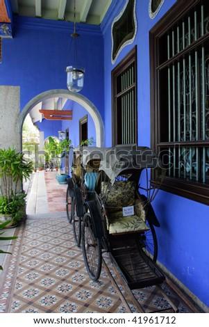 Cheong Fatt Tze Mansion, Penang, Malaysia - stock photo