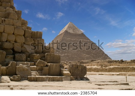 pyramids without snow