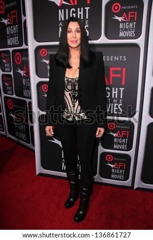 Cher at AFI Night At The Movies Arclight Hollywood CA 04-24-13
