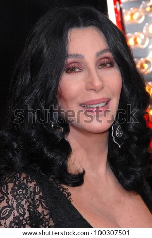 "Cher  at the ""Burlesque"" Los Angeles Premiere, Chinese Theater, Hollywood, CA. 11-15-10"