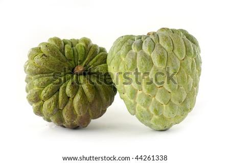 Cherimoya fruit or custard apple