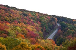 Cherohala Skyway in the Fall