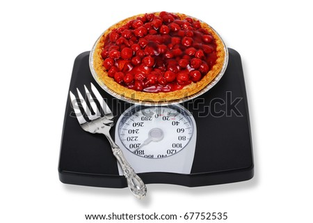 Cherry Pie and Weight Scales.