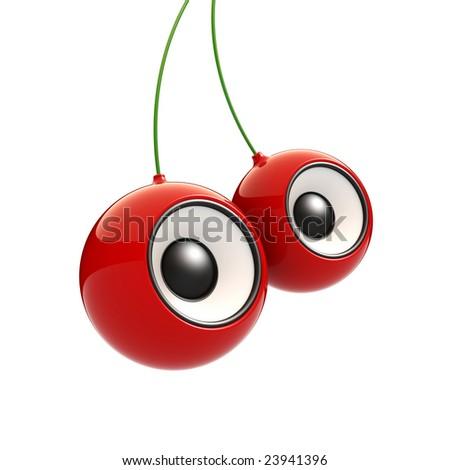 Cherry speakers