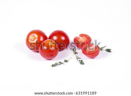 Cherry tomatoes #631991189