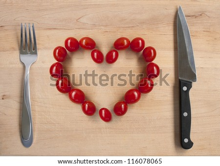 cherry tomatos ready to eat